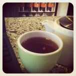 Photo taken at t, an urban teahouse by Tom on 11/5/2011