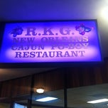 Photo taken at R.K.G. New Orleans Cajun Po-Boy Restaurant by Cody W. on 4/4/2012