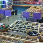 Photo taken at Bead World by Brenda S. on 6/28/2012