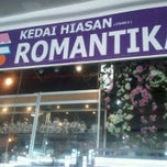 Photo taken at Kedai Hiasan Romantika by Liyana N. on 3/16/2011