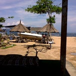 Photo taken at Tanjung Benoa Beach by Maily M. on 11/17/2011