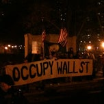 Photo taken at #OCCUPYWALLSTREET by VideoDanceTV on 11/18/2011