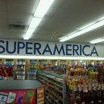 Photo taken at SuperAmerica by Ian H. on 10/8/2011