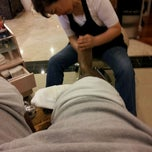 Photo taken at Floris Nail Salon by J A. on 3/12/2012
