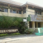 Photo taken at SMA Negeri 4 Yogyakarta by Bayu D. on 8/21/2011