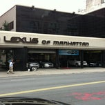 Photo taken at Lexus of Manhattan by Rick T. on 6/21/2011