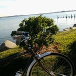 Photo taken at Shore Haven bikepath by Kris R. on 9/11/2012