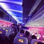 Photo taken at Virgin America by Drake M. on 5/28/2012