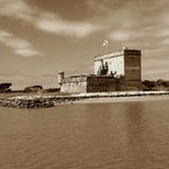 Photo taken at Fort Matanzas National Monument by Aaron R. on 9/7/2011