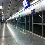 Photo taken at MRT สีลม (Si Lom) SIL by Patthinun B. on 2/28/2012