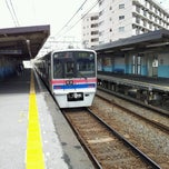 Photo taken at 京成関屋駅 (Keisei Sekiya Sta.) (KS06) by TachiSilver on 6/10/2012
