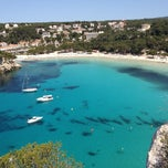 Photo taken at Cala Galdana by Josep M. on 5/12/2012