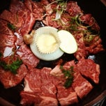 Photo taken at Wharo Korean BBQ by Alan A. on 8/21/2012