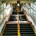 Photo taken at Wimbledon Park London Underground Station by Olivier W. on 3/14/2012