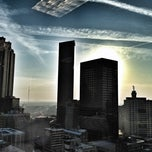 Photo taken at Centennial Tower by Victor H. on 3/19/2012