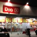 Photo taken at DIA Supermercado by Rafael Coura G. on 4/23/2012