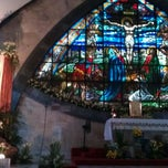 Photo taken at San Ildefonso Parish by Bas O. on 1/27/2012
