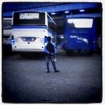 Photo taken at Terminal Kampung Rambutan by Alex I. on 1/23/2012