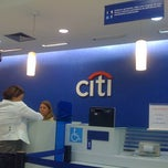 Photo taken at Citibank Ag Copacabana - 0058 by Gabriela M. on 4/27/2012