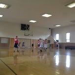 Photo taken at Sandy Utah West Stake Recreation Center by Tyler P. on 4/14/2012