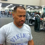 Photo taken at LA Fitness by John K. on 6/14/2012