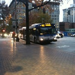 Photo taken at Metro Bus Stop #648 by Jenn H. on 2/22/2012