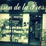 Photo taken at Maison de la Presse by Iarla B. on 8/13/2011