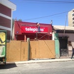 Photo taken at Telepizza by Karl A. on 1/7/2012