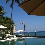 Photo taken at Puri Mas Boutique Resorts & Spa by Sandra Lubbers L. on 6/10/2011
