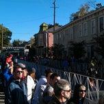 Photo taken at Rock 'n' Roll Savannah Marathon & 1/2 Marathon (Nov 2011) by Jason N. on 11/5/2011
