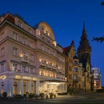Photo taken at Hotel Fürstenhof by Christian K. on 1/7/2012