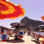 Photo taken at Spiaggia San Vito Lo Capo Beach by Bill B. on 6/14/2012