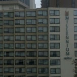 Photo taken at Millennium Hotel by Joe M. on 11/30/2011