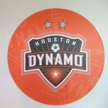 Photo taken at Houston Dynamo Offices by Jennifer P. on 5/8/2012