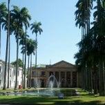 Photo taken at Palácio Itamaraty by Luís Guilherme on 9/5/2012