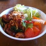 Photo taken at アンゴン by Kumiko F. on 7/26/2012