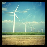 Photo taken at Fowler Ridge Wind Farm by zulie💭 on 6/28/2012