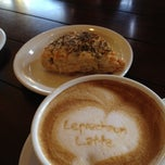 Photo taken at Gruene Grind Coffee Co. by Erin P. on 4/1/2012