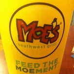 Photo taken at Moe's Southwest Grill by Jose Luis H. on 4/18/2012
