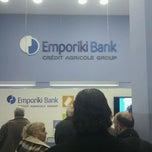 Photo taken at Emporiki Bank by Dimi P. on 12/13/2011