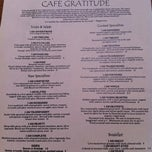 Photo taken at Café Gratitude by James L. on 8/23/2011
