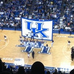 Photo taken at Rupp Arena by Adam S. on 2/20/2011