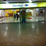 Photo taken at Carrefour by David A. on 1/12/2011