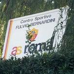 Photo taken at Centro Sportivo Fulvio Bernardini - AS Roma by RAFFAPAZ on 1/4/2012