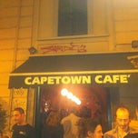 Photo taken at Cape Town Cafè by Toscano D. on 6/7/2012