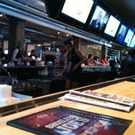 Photo taken at Shoeless Joe's by Dan F. on 2/25/2011