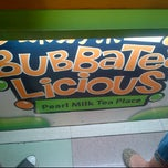 Photo taken at BubbaTeaLicious by Monica S. on 4/12/2012
