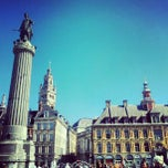 Photo taken at Place du Général de Gaulle by Laurent H. on 9/7/2012