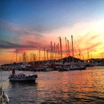 Photo taken at Bodrum Marina by Salih I. on 8/19/2012