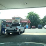 Photo taken at Mobil by Ilona R. on 6/21/2012